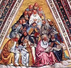 Los Padres de la Iglesia.