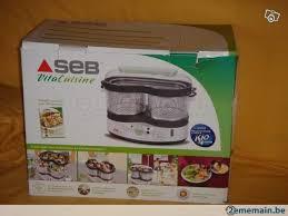 seb vita cuisine stoomkoker seb vitacuisine serie s06 a vendre 2ememain be