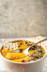 Thai Red Pumpkin Curry Recipe by Thai Roasted Squash And Sweet Potato Soup Vikalinka