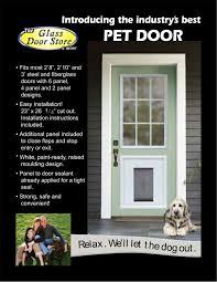 Doggy Doors For Sliding Glass Doors by Patio Doors With Doggie Door Built In Modern Patio