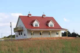 Pole Barn Design Ideas Outstanding 36 48 Pole Barn Home W Porch Hq Pictures Metal