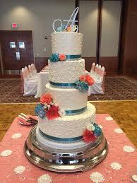 coral wedding cakes weddings of cake bakery café