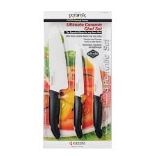 Knives For Kitchen Use Amazon Com Kyocera Advanced Ceramic Revolution 3 Piece Ceramic