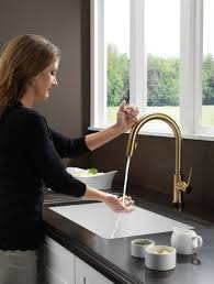 delta 9159t cz dst trinsic single handle pull down kitchen faucet