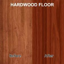 Hardwood Floor Coating High Gloss Wood Floor Finish With Rejuvenate 32oz Pro Restorer