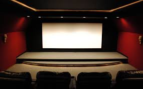 home cinema interior design home theater stage design hanging curtains with valances