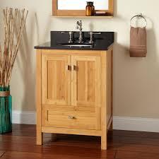 bamboo undermount sink vanity signature hardware