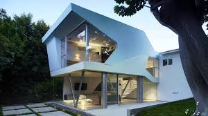 house design unique architecture with fiberglass wall around