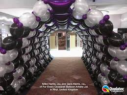 New Years Eve Balloon Decorations by Balloon Arches Balloon Blast