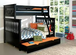 Three Bed Bunk Beds by Bedroom Bunk Bed With Ladder Triple Bunk Beds With Stairs