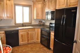 kitchens with black appliances and oak cabinets wow kitchen color ideas with oak cabinets and black appliances 67