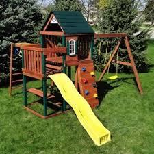 Backyard Swing Set Ideas by 12 Best Outside Ideas Images On Pinterest Backyard Ideas