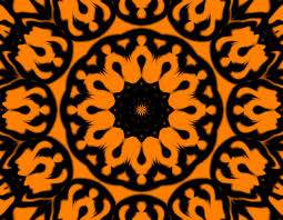 halloween abstract halloween kaleidoscope free stock photo public domain pictures