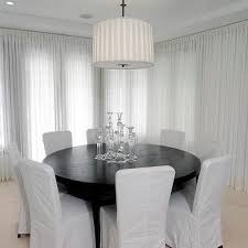 round table dining room gray dining room transitional dining room vallone design