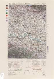 Brescia Italy Map by