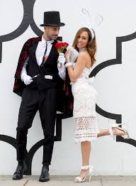 diy halloween classy couples costume ideas magician white rabbit