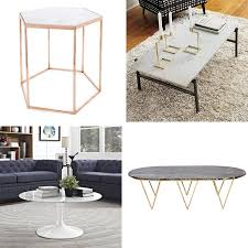 High Coffee Tables Marble Coffee Tables For Every Budget Apartment Therapy