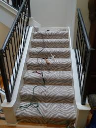 Silver Stair Rods by Staircase Archives Schroeder Carpet