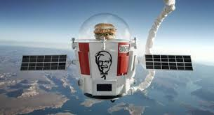 world view balloon sends chicken sandwich into stratosphere for