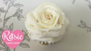 Buttercream Frosting For Decorating Cupcakes White Chocolate Buttercream Frosting Tutorial Youtube