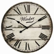 Wooden Wall Clock by Wall Decor Charming Wooden Oversized Wall Clock For Home