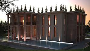top international architecture design private villa kazakhstan
