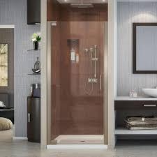25 Shower Door Dreamline Elegance 25 1 4 In To 27 1 4 In X 72 In Semi