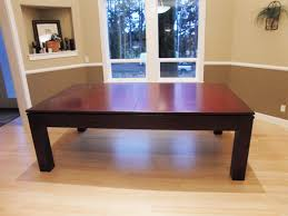 Dining Room Pool Table by Pool Table Cover Dining Room Table Dining Tables