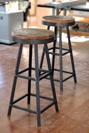 Metal Bar Stools With Wood Seat Bar Stools With Wooden Seat And Metal Legs Archives Bar Stools
