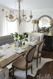 Off White Chandelier 15 French Country Dining Space Décor Ideas Shelterness