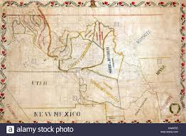 Map Of Native American Tribes 1851 Map Of The Upper Great Plains And Rocky Mountains Region