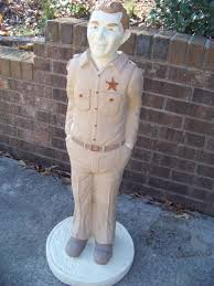 the andy griffith show sheriff andy concrete statue