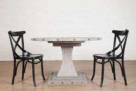 rustic round pedestal dining table camelot pedestal round dining table from trade source furniture