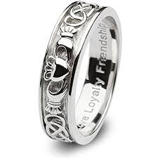 claddagh wedding ring sterling silver claddagh wedding ring sl sd8