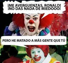 Ronald Mcdonald Meme - dopl3r com memes me averg禺enzas ronald mcdonald no das nada de