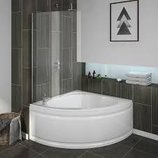 Bathroom With Corner Shower Corner Bath With Shower A Smart Choice For Your Bathroom