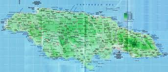 Jamaica Map Road Map For St James Jamaica Jamaicajamaica