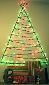 christmas tree shaped lights good christmas tree out of lights on wall 20 about remodel what