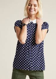 polkadot top polka dot tops polka dot clothing skirts modcloth