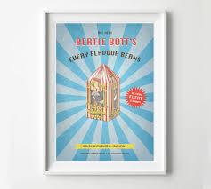 where to buy bertie botts harry potter vintage poster bertie bott s every flavour