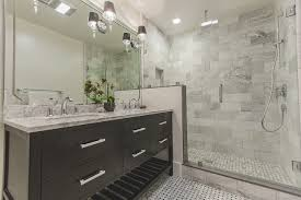 stunning european shower in this contemporary bathroom www