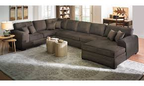 Sectional Sleeper Sofa With Chaise Furniture Oversized Sectional Basset Sectional Oversized