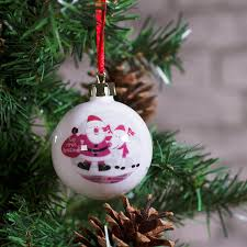 personalised christmas decorations buy from prezzybox com