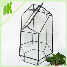 terrariums decor hanging glass ball holder geometric glass