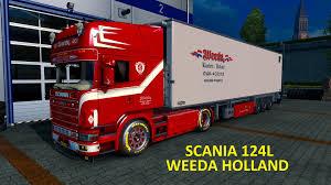 volvo trucks holland scania weeda 124l holland truck 1 22 x mod euro truck simulator 2