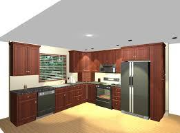 red cabinet kitchen nice home design