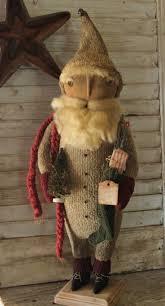 best 25 primitive santa ideas on pinterest prim christmas
