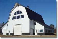 Barn Roof by Pole Barn U0026 Building Designs Hansen Pole Buildings