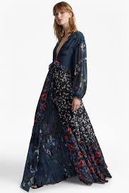 floral maxi dress celia mix v neck floral maxi dress collections connection
