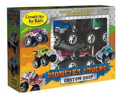 creativity kids monster truck custom shop activity